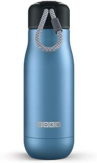 Zoku Stainless Steel Water Bottle; Leak-Proof & Spill...