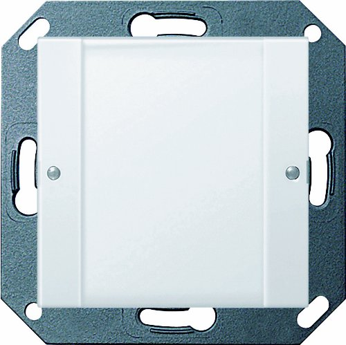 Gira 2001100 Tastsensor 2 potentialfrei System 55 1-fach 24 V klar, reinweiß