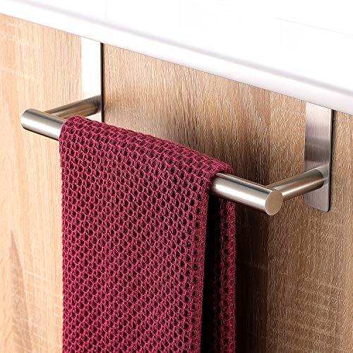 YIGII Handtuchhalter Edelstahl 23 cm Geschirrtuchhalter für Badezimmer und Küche