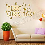 woyaofal Fototapete Art Sticker Quot Merry Christmas Fototapete Remove Fototapete für Zuhause Vinyl...