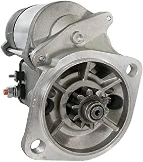 DB Electrical SND0408 Starter for Bobcat Compact Excavator 325 328 329 331 334 335 337 341 E25 E26 E32 E35 E42 E45 E50 E55 S100 /D1703E2B D1703B V2203EB V2003TEB V1505 /6670727, 7253205