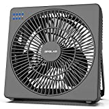 OPOLAR 8 Inch Desk Fan with Timer, USB Operated, 5 Speeds...