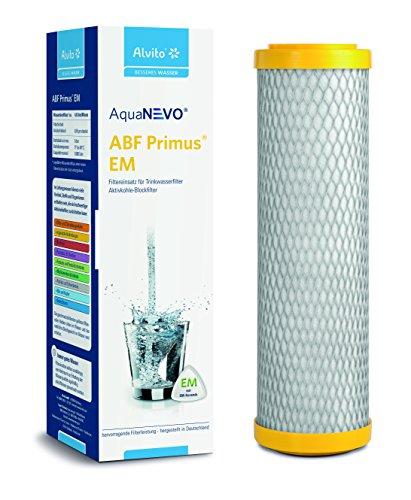 Alvito Filterkartusche Aktivkohlefilter ABF Primus® Duplex® SD/CLC/EM/SD (gelb, blau, grün, rot) | (Primus EM gelb)
