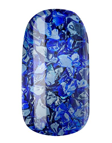 Nagel fogli by Glam Stripes Nail Wraps–Blue Marlin