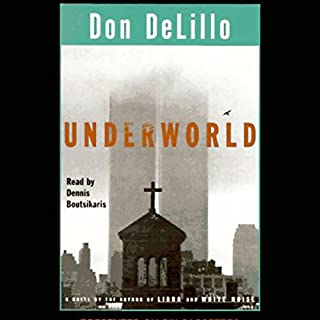 Underworld     A Novel              By:                                                                                                                                 Don DeLillo                               Narrated by:                                                                                                                                 Richard Poe                      Length: 30 hrs and 56 mins     128 ratings     Overall 3.6