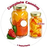 Complete Canning Guides, Tutorials, Recipes and more 32 Books on cd