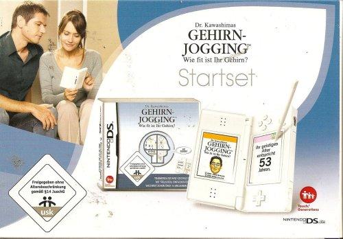 Nintendo DS Lite - Konsole, weiß inkl. Dr. Kawashimas Gehirn Jogging