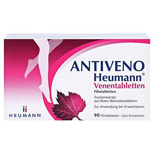 ANTIVENO Heumann Venentabletten, 90 St. Tabletten