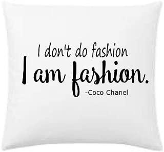 I don't do fashion, I am fashion designer inspired throw pillow, 16