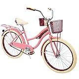 """Best Womens Cruiser Bikes - Huffy 24"""" Nel Lusso Women's Comfort Cruiser Bike(Pink) Review"""