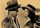 Mengyun Store Casablanca Film Poster Dekorativer Aufkleber