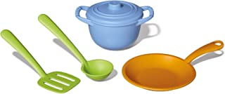 Green Toys CHF01R Chef Set, Green, Gold, Blue