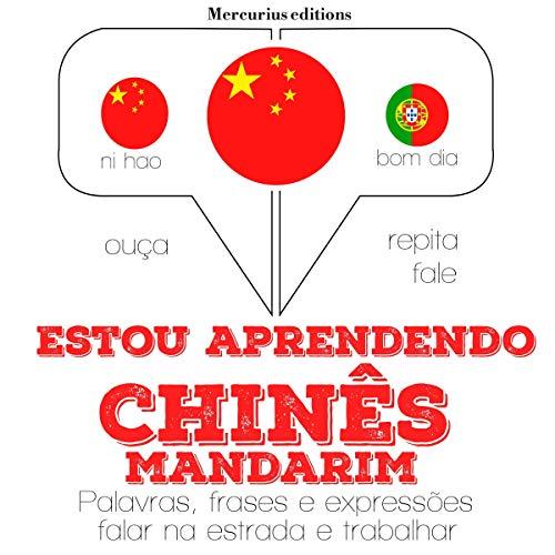 Diseño de la portada del título Estou aprendendo chinês-mandarim