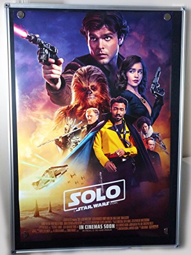 Solo A Star Wars Story International Original Double Sided Rolled 27x40 Movie Poster 2018
