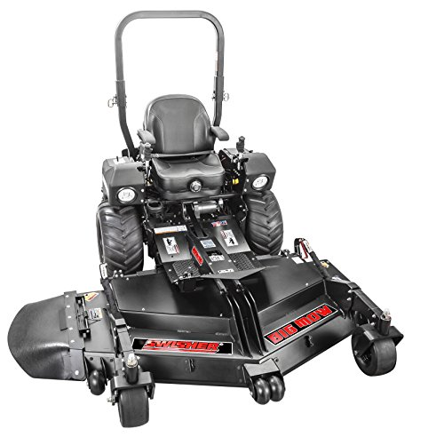 "Swisher Z3166CPKA Big MOW 31 HP/66 in. Kawasaki Commercial Pro Front Deck ZTR Zero Turn Mower, 66"", Black"