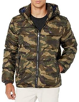 Tommy Hilfiger Men s Legacy Hooded Puffer Jacket New Camo Medium