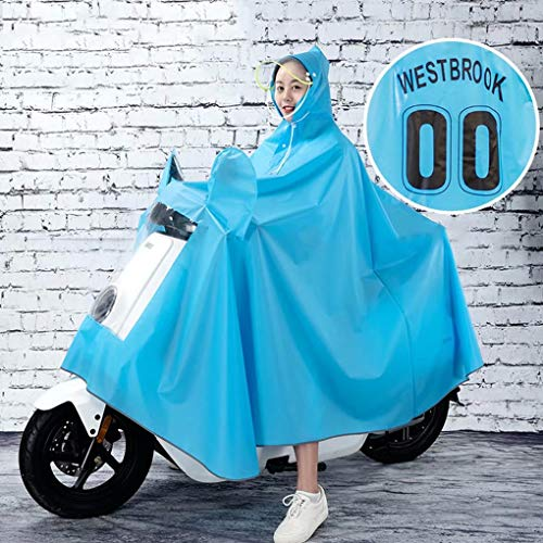 AA-SS Moto Impermeable Impermeable Grande Cape Coat-JXSD Mobility Scooter...