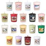 Yankee Candle Coffret avec 18Bougies Votives Parfumées, Parfums Assortis