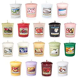 Yankee Candle Value Bundle with 18 Votive Scented Candles