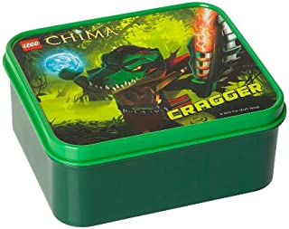 LEGO Licensed Collections 40501719 - Legends of Chima Sandwich Box with Cragger Design, Green