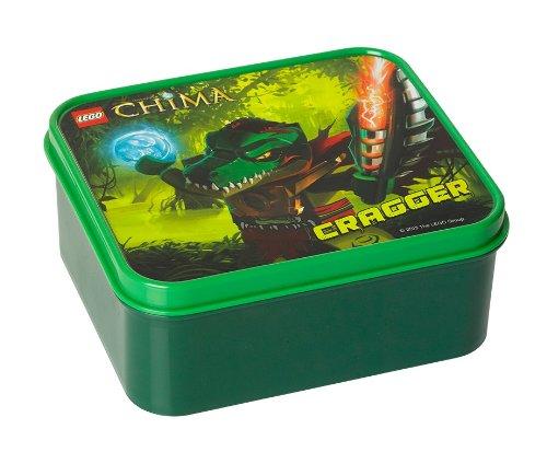 LEGO - 40501719 - Boîte À Repas - Vert Foncé - Légende Chima