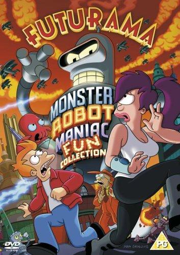 Futurama-Monster Robot Maniac [Reino Unido] [DVD]