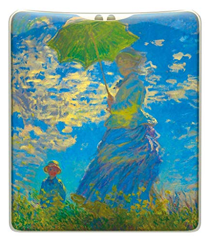 Maranda Ti Mi Torch Fine Art Collection – Monet Frau mit Sonnenschirm, handliche Handtasche