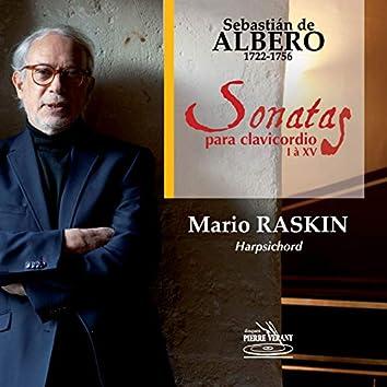 Albero - Sonates Nos. 1 à 15 pour clavecin