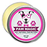 Paw Magic: Organic Natural Dog Paw Butter Moisturizer - Proven To Cure and Soothes Your Dog's Rough,...