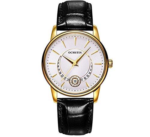 OCHSTIN Dames de mode en cuir Swiss Watch Diamonds , 5