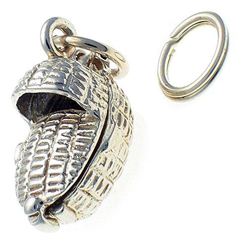 Welded Bliss WBC1521 Anhänger für Babykörbchen Sterling-Silber 925