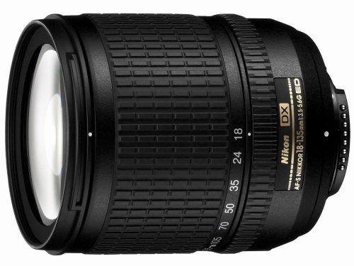 Nikon 18-135mm f/3.5-5.6G ED-IF AF-S DX Zoom-Nikkor Lens for Nikon Digital SLR Cameras - White Box(Bulk Packaging)