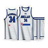 Alphabet Bruder Basketball Uniform Anzug, 2019 Griechenland Herren Basketball Team World Cup Trikot Basketball Weste + Shorts, schnell trocknend, atmungsaktiv-White1-XL