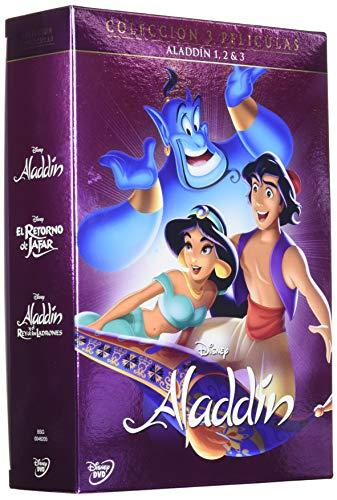 Pack Trilogia Clasicos Aladdin [DVD]