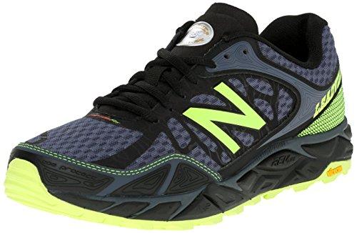 New Balance NBMTLEADB3 - Zapatillas para Correr en montaña de Material Sintético para Hombre Negro Nero (Black Red) 42 1/2