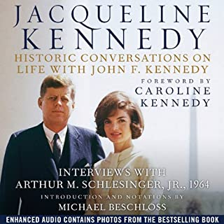 Jacqueline Kennedy: Historic Conversations on Life with John F. Kennedy audiobook cover art