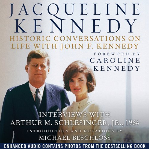 『Jacqueline Kennedy: Historic Conversations on Life with John F. Kennedy』のカバーアート