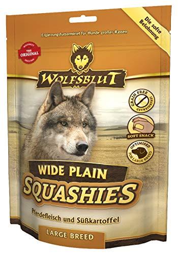 Wolfsblut Squashies Wide Plain Large Breed I 4 x 300g I Soft Snack
