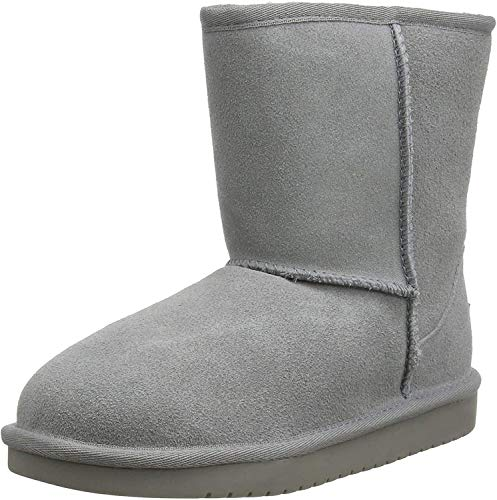 Koolaburra by UGG unisex child Koola Short Fashion Boot, Wild Dove, 3 Little Kid US