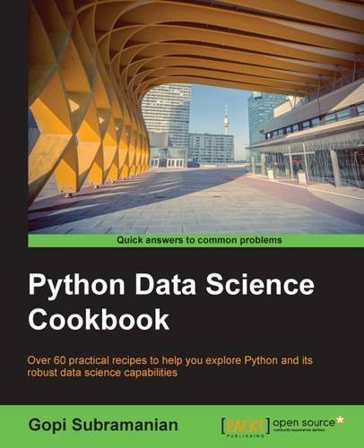 Python Data Science Cookbook by Gopi Subramanian (2015-11-01)