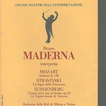 Grandi maestri dell'interpretazione: Bruno Maderna