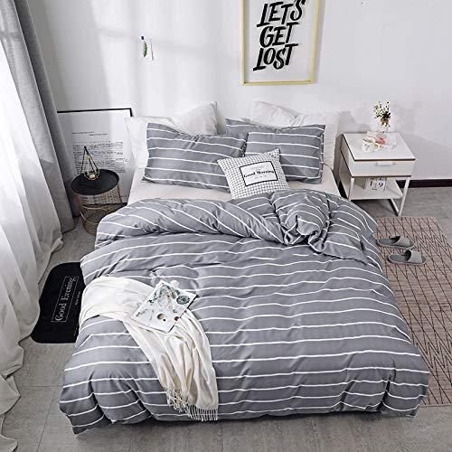 BH-JJSMGS Printed bedding, lightweight microfiber duvet cover 228 * 228 three-piece past