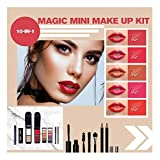 Anyren Full Makeup Magic Box Eye Shadow Mascara Lipstick Fashion Brilliant Color Makeup Set for Party Casual Wedding Makeup (A)