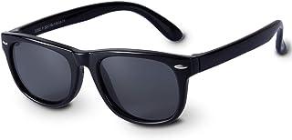 Boys Sunglasses Kids Sunglasses for Kids Polarized Resin...