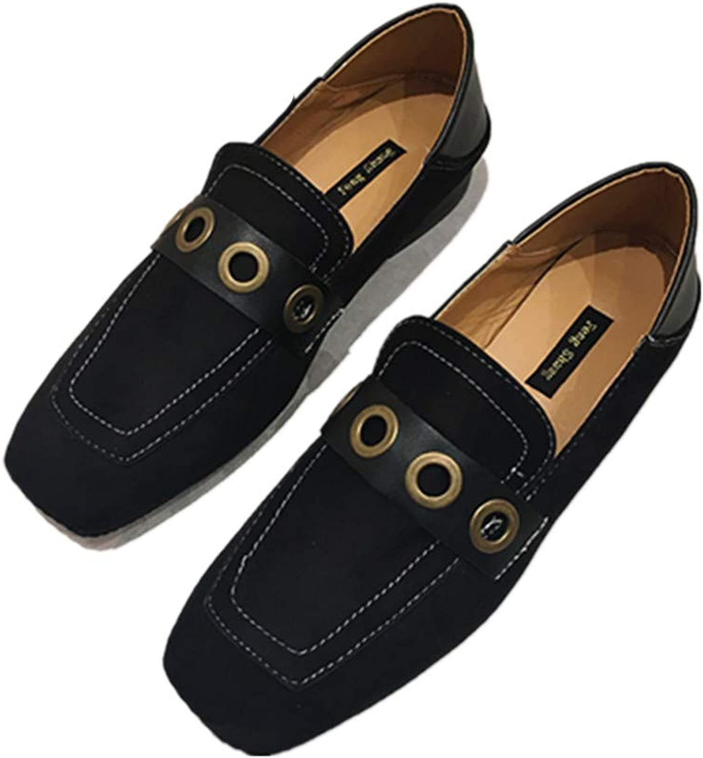 Meimeioo Flats shoes for Women- Comfortable Loafers Casual Walking Slip On Ladies shoes