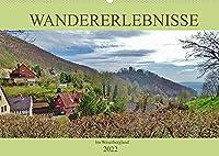 Wandererlebnisse im Weserbergland (Wandkalender 2022 DIN A2 quer): Natur und Kultur geniessen! (Monatskalender, 14 Seiten )