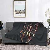 Sword Art Online Kirigaya Kazuto Manta de forro polar ultra suave acogedora alfombra de felpa sofá cama sofá cama alfombra cálida microfibra para todas las estaciones 202 x 150 cm