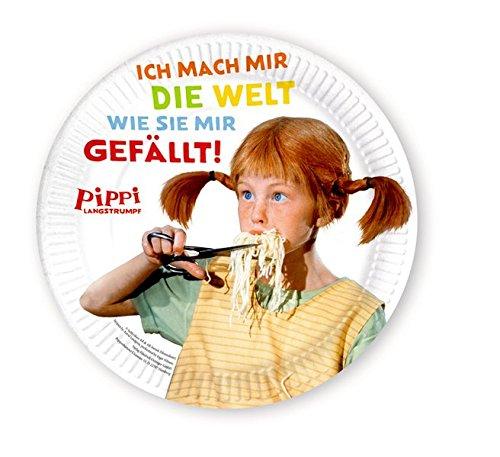 Pippi (Film) Pappteller: 8 Stück