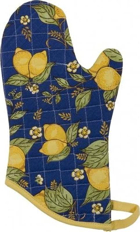 DANICA NOW DESIGNS Mitt Provencal Lemon 1 Each