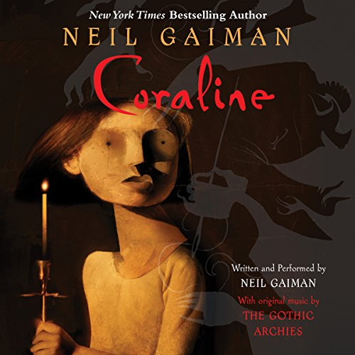 Coraline  audiobook cover art